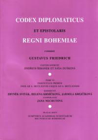 Codex diplomaticus et epistolaris regni Bohemiae